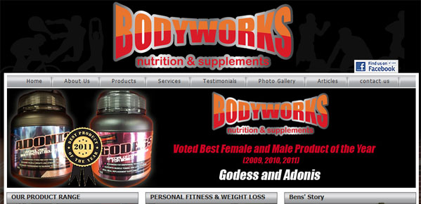 Bodyworks Mandurah - Website Redesign