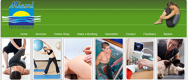 Miami Physiotherapy - Small Business Website - Mandurah